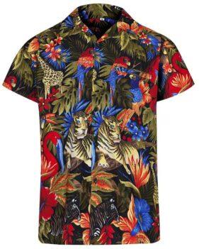 43f54f26 Jungle Hawaiian Shirt – Hawaiian Shirts Online
